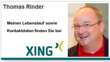 Thomas Rinders XING-Profil
